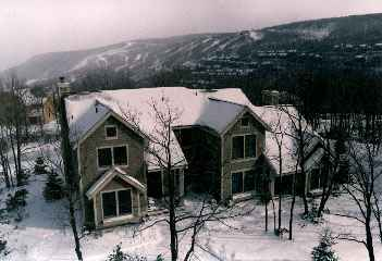 Poconos in Winter