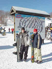 Poconos Skiing and Snowboarding