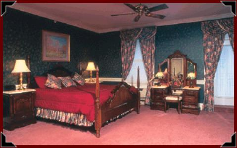 Typical Room at the Inn at Jim Thorpe